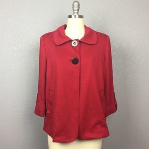 •First Option• Red Cape Jacket